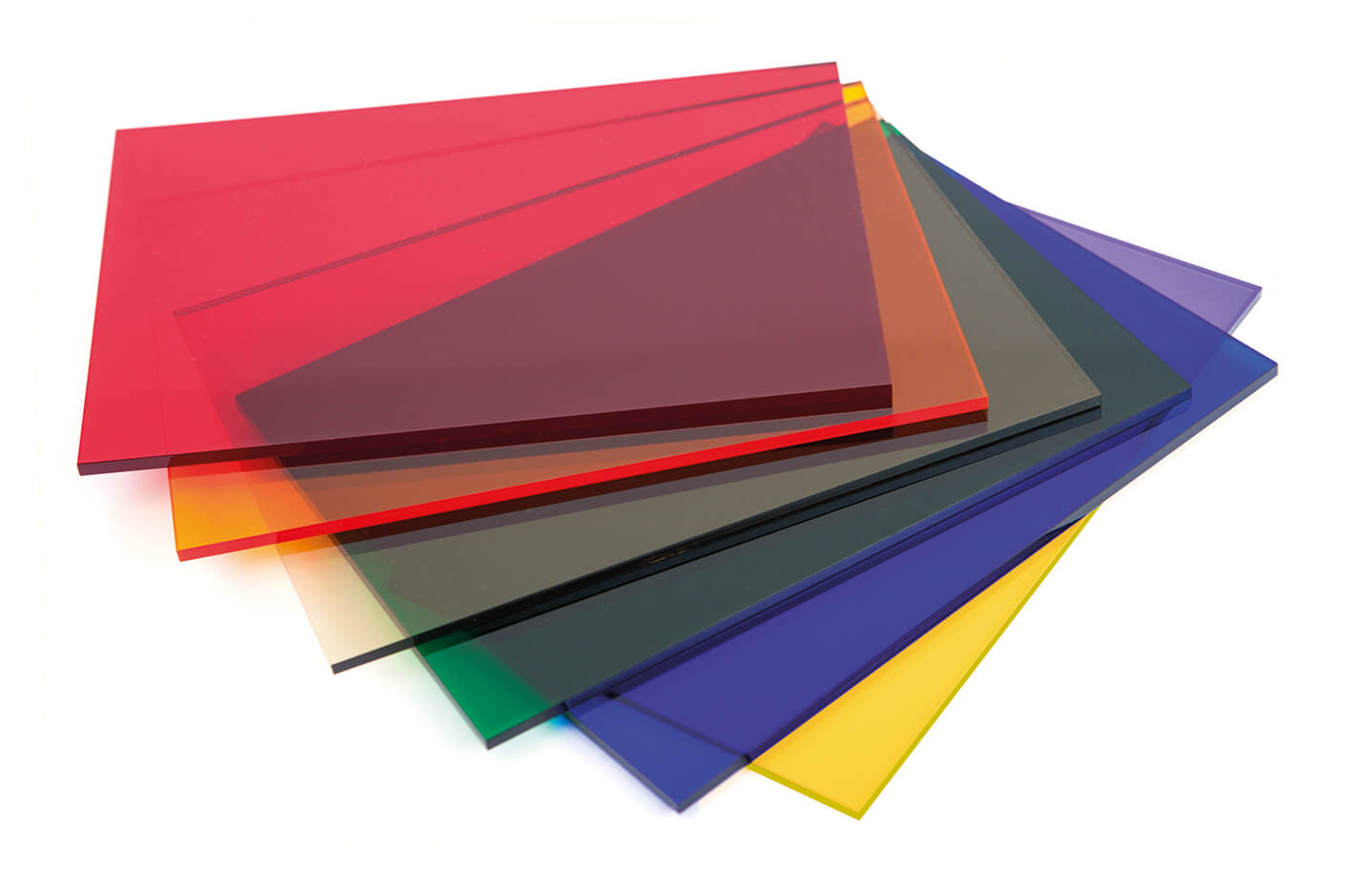 Tinted Cast Acrylic 3mm Sheet - 1000 x 500mm Assorted Pack ...