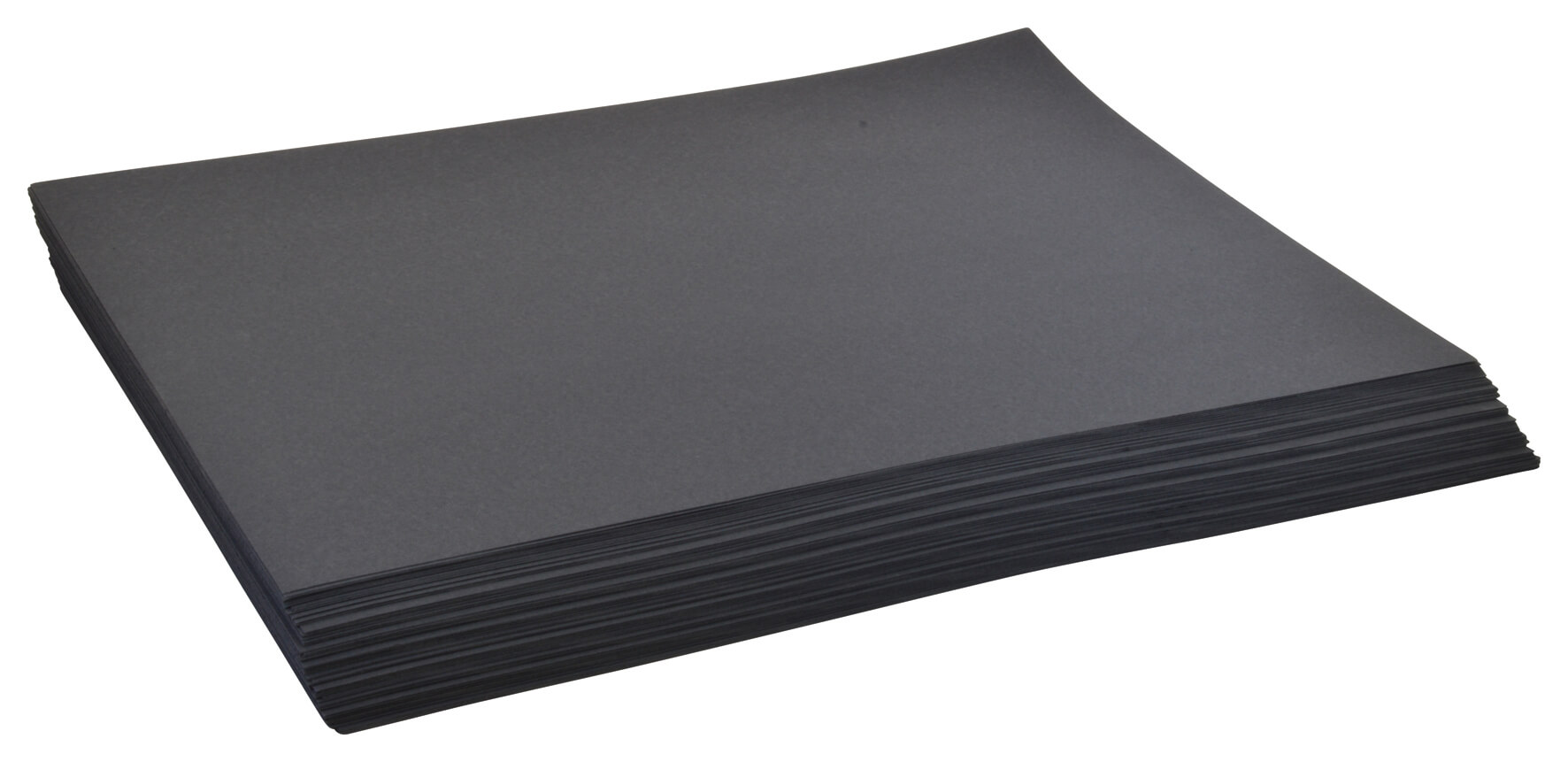 Card 180gsm Black A2 - pack of 100