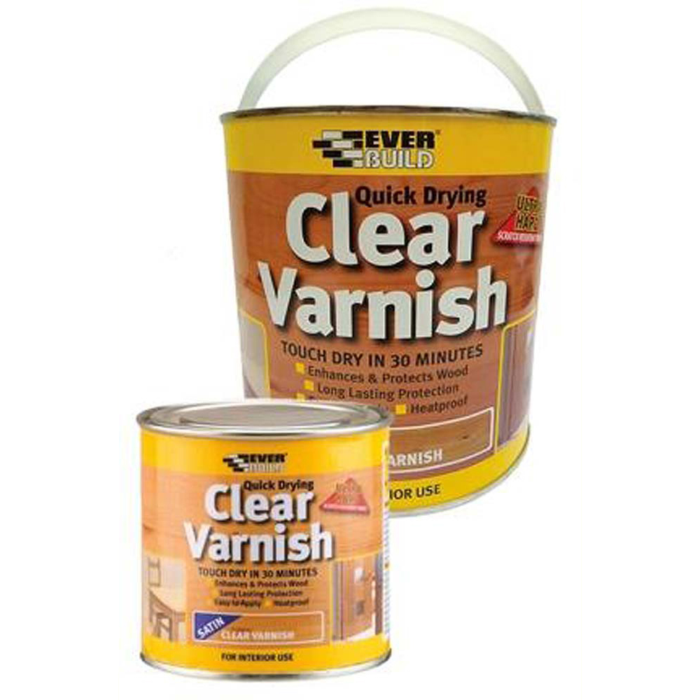 Everbuild Varnish Satin - 2.5l