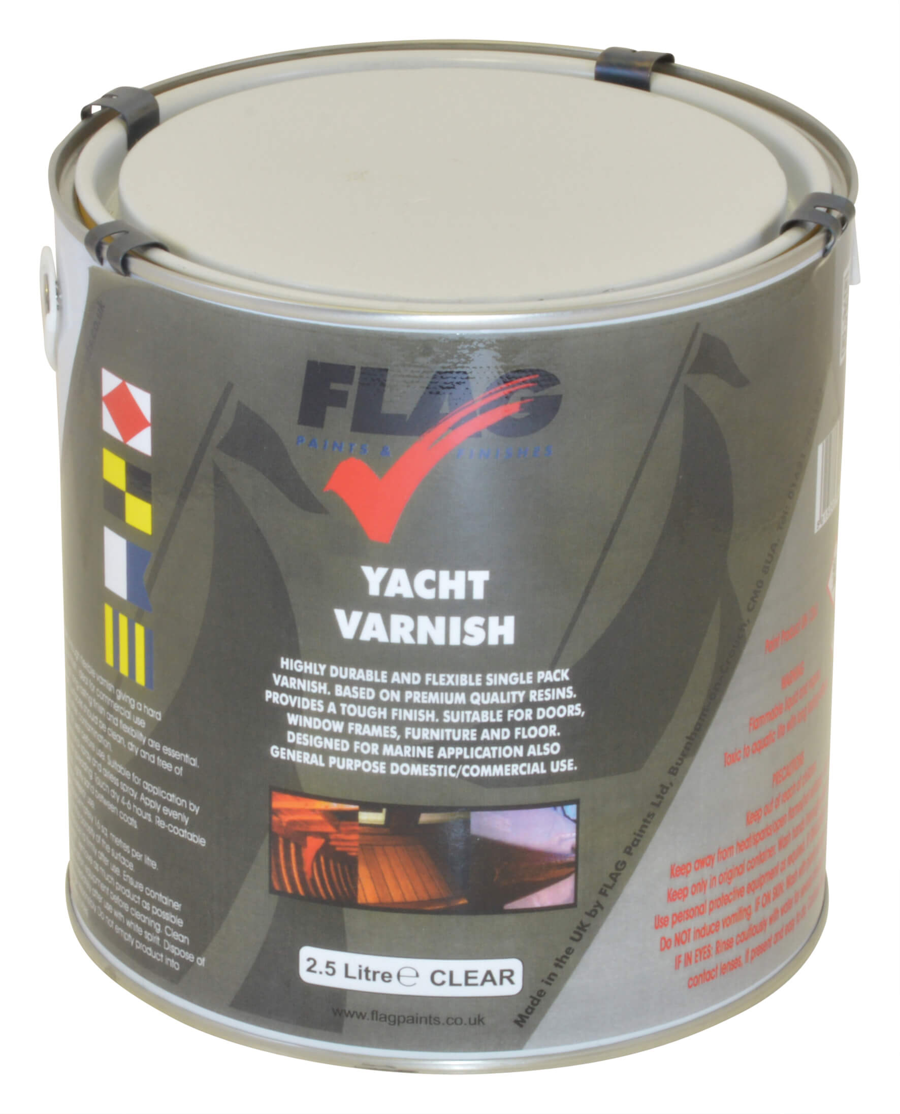 Yacht Varnish - 2.5 Litre