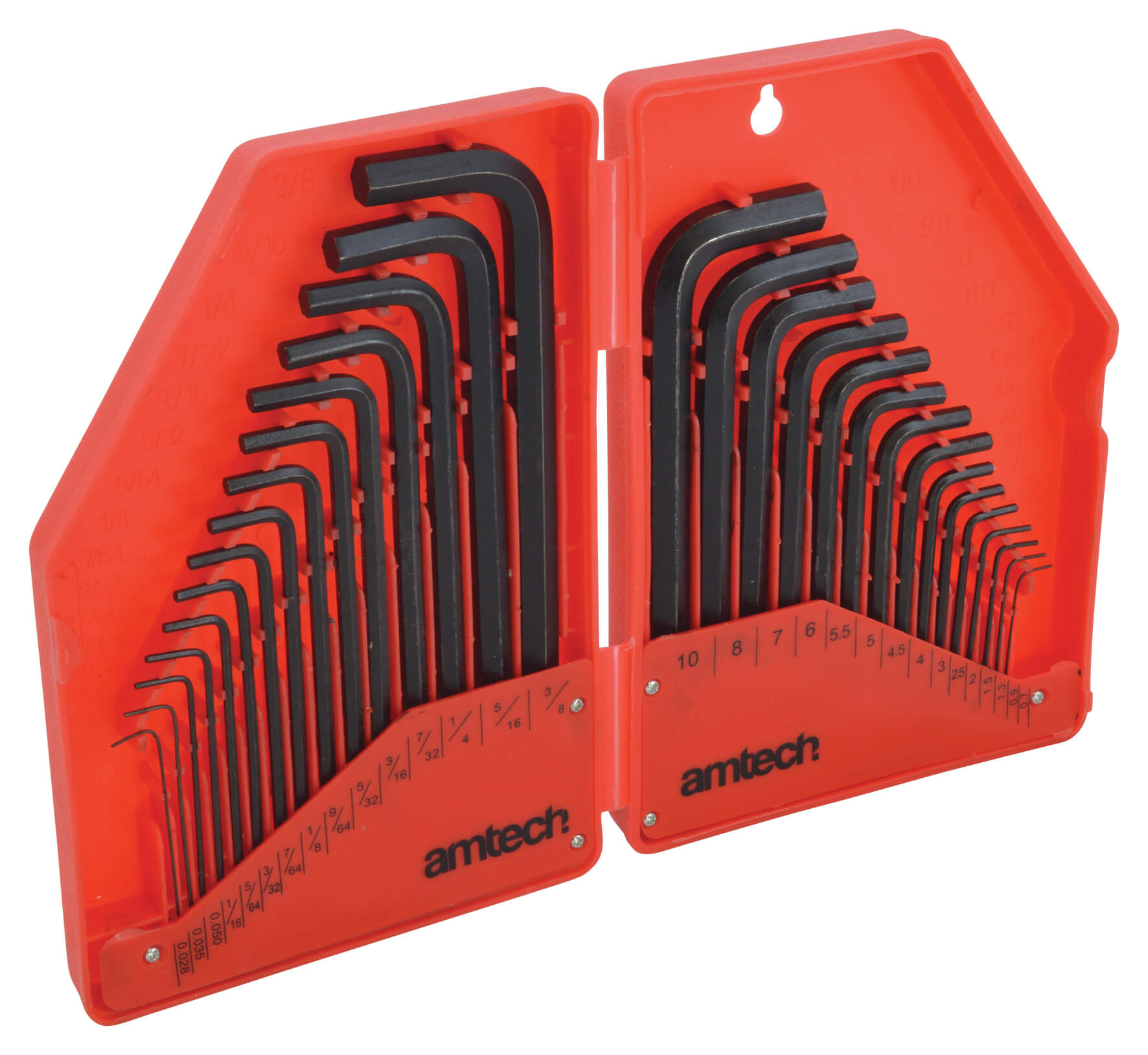 Hex Key Set - 30 Piece