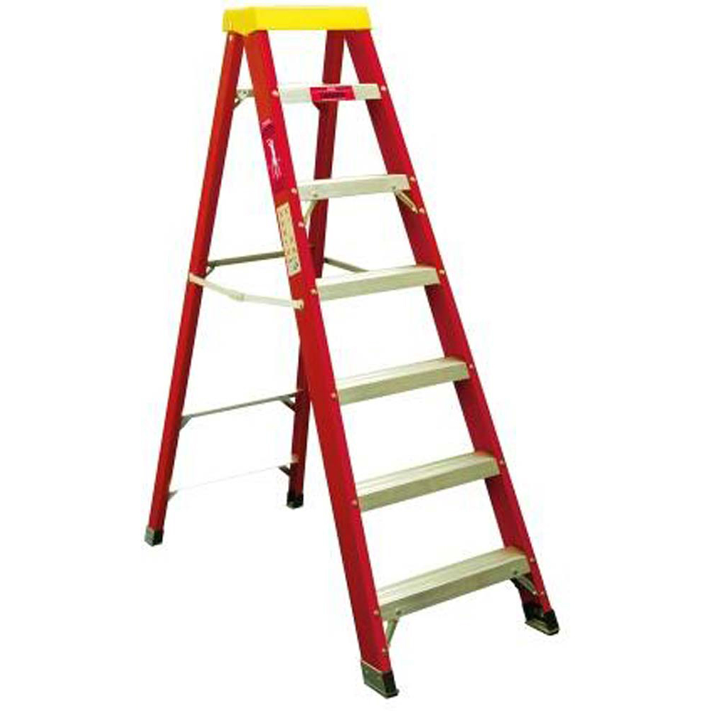 Fibreglass Step Ladder 7 Tread