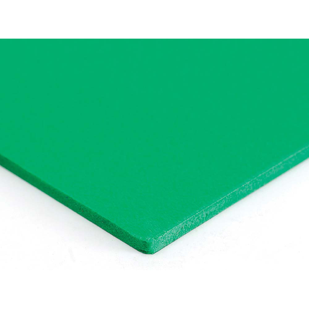 Plastazote Green Sheet - 1000 x 500 x 3mm