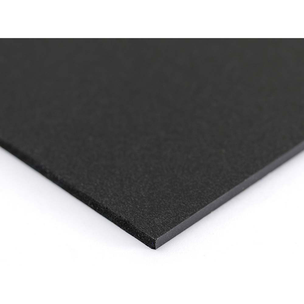 Plastazote Black Sheet - 1000 x 500 x 12mm