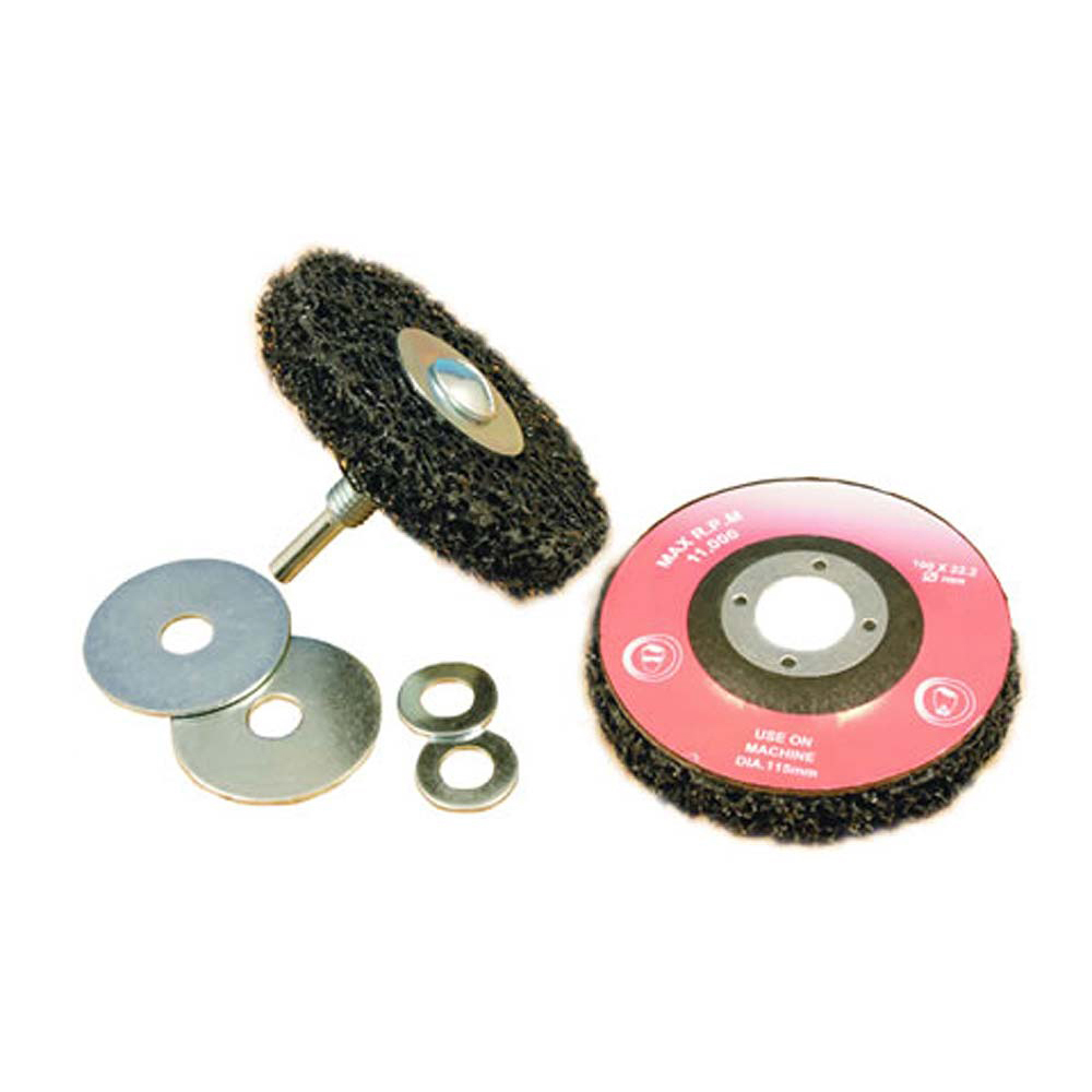 Poly X Abrasive Wheel & Arbor - Type B - 4