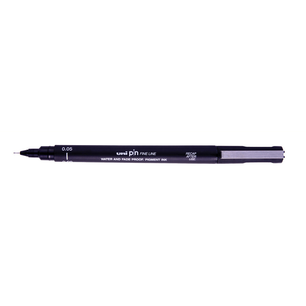 Uni Pin Drawing Pen 0.1mm - black