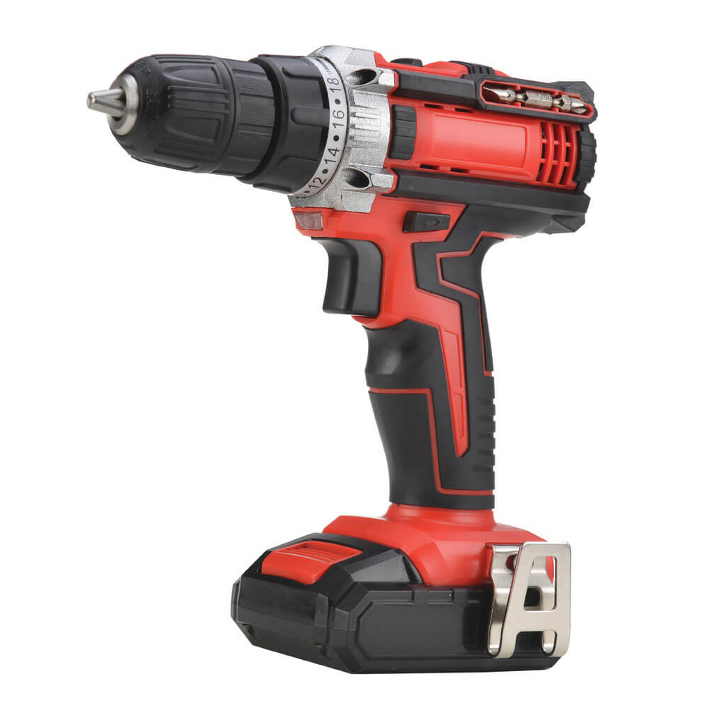 Cordless Drill Driver 18V - Twin Pack