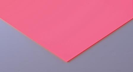 Frosted Cast Acrylic 4mm Sheet - Cancun Pink 1000 x 500mm