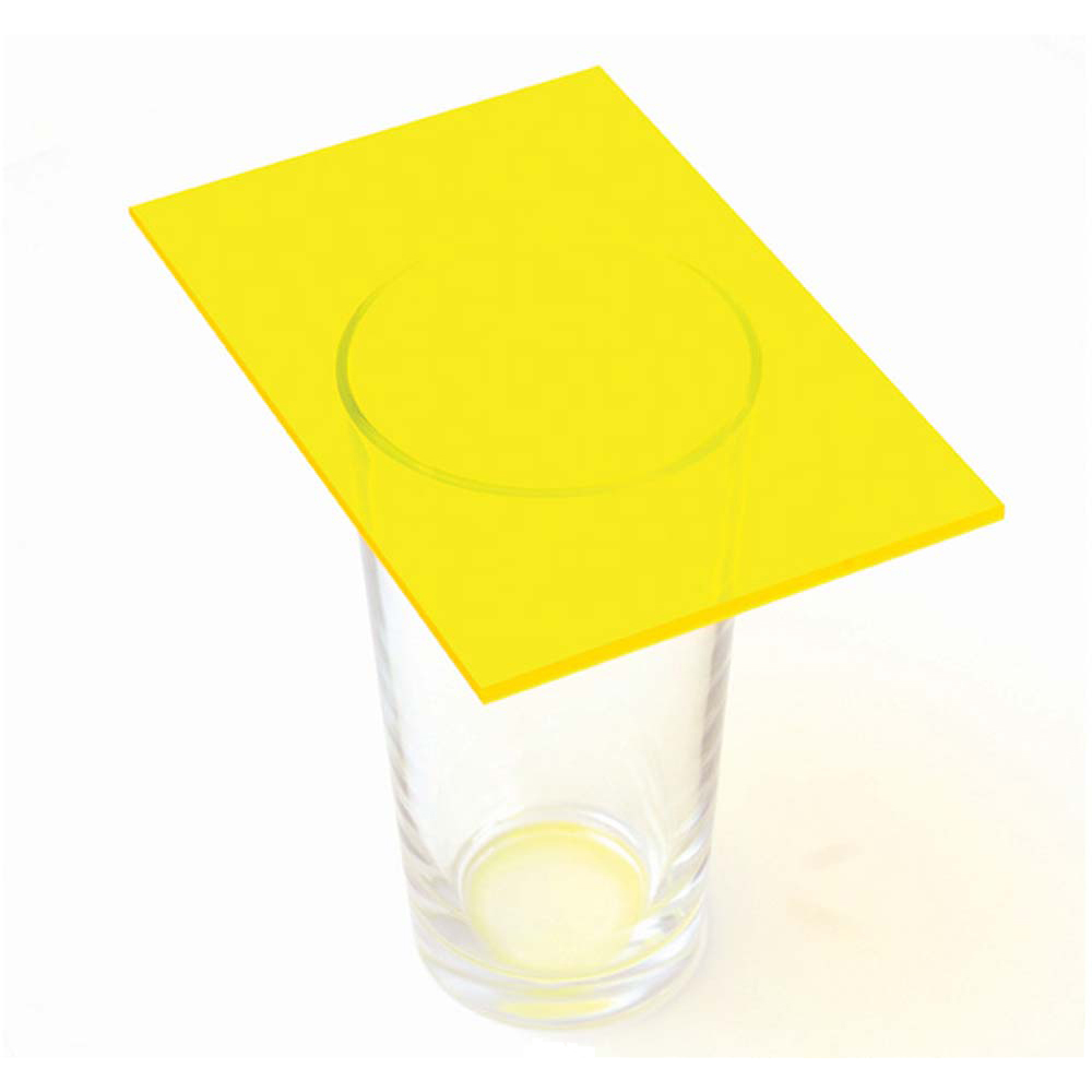 Fluorescent Yellow Acrylic Sheets