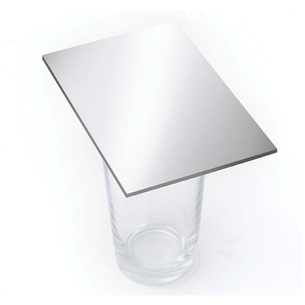Mirrored Acrylic 3mm Sheet - Silver 1200 x 600mm
