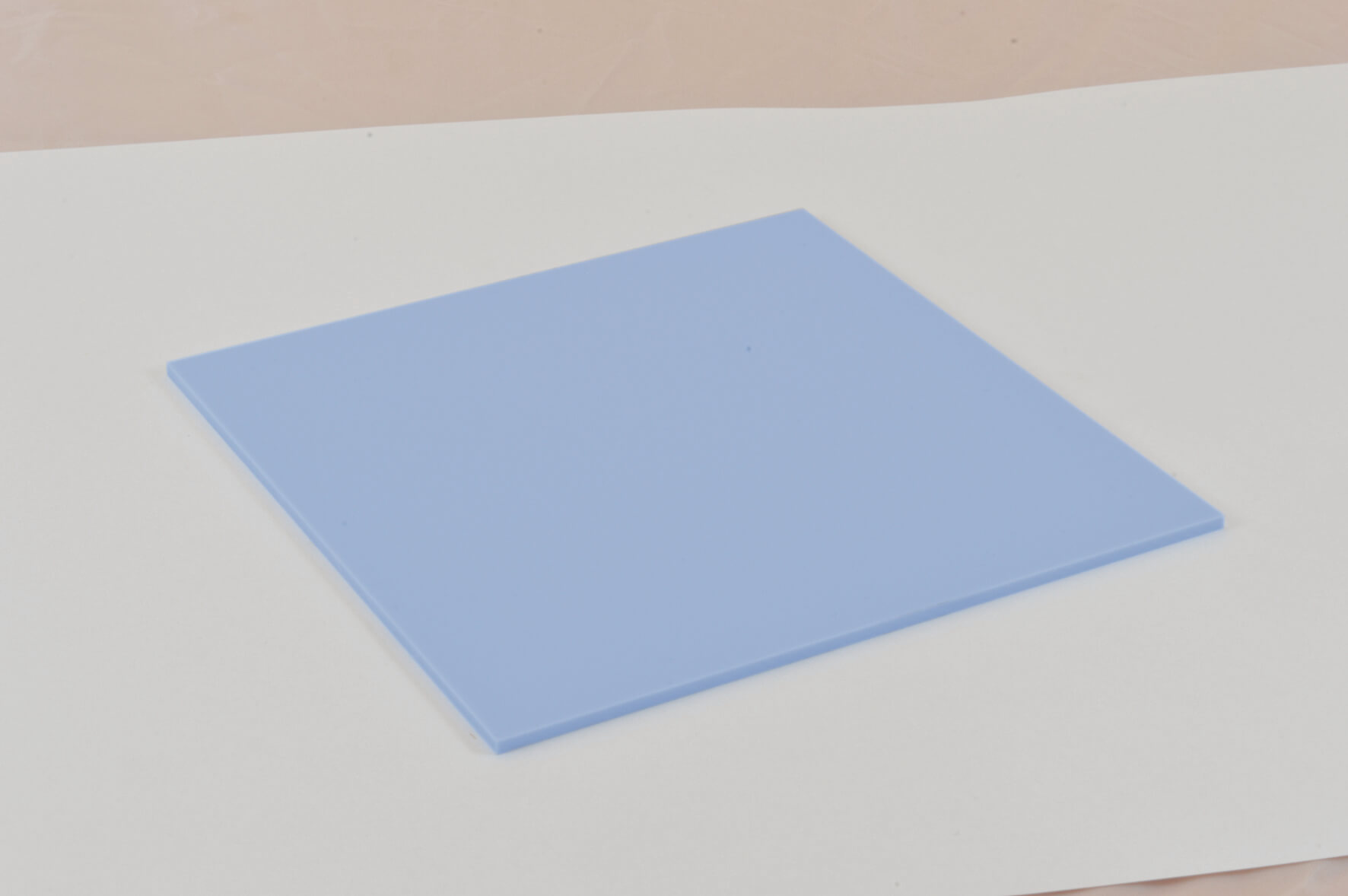 Pastels Cast Acrylic 3mm Sheet - Candy Floss Blue 600 x 400mm