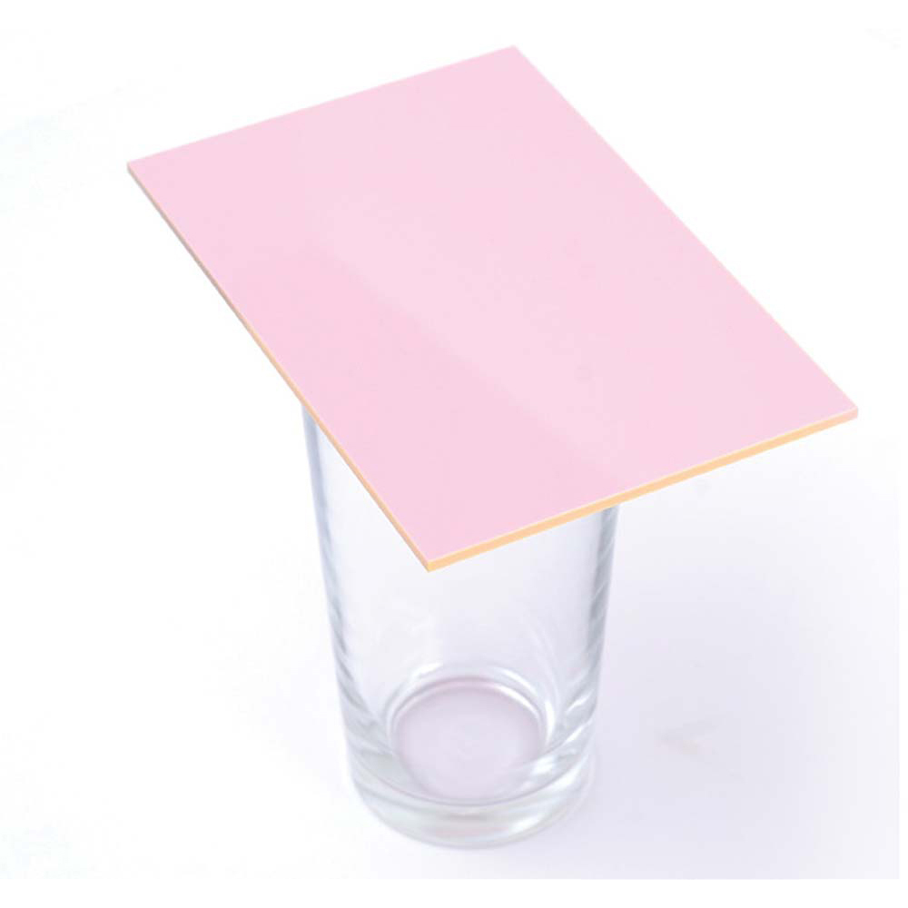 Cast Acrylic 3mm Sheet - Solid Pink 600 x 400mm