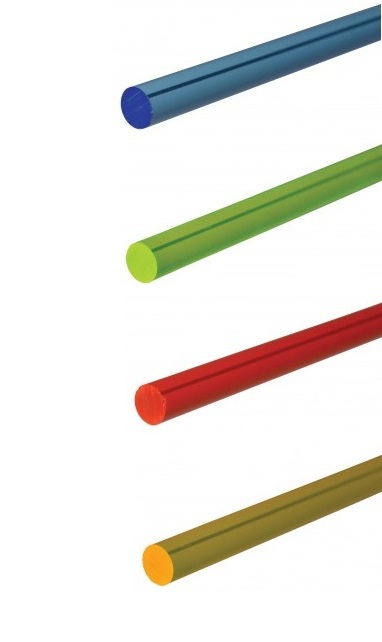 *Fluorescent Acrylic Rods - Pack of 20 - Assorted Colours