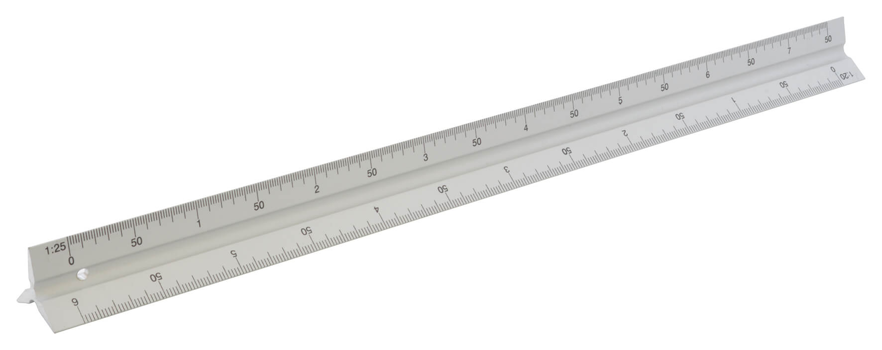 Aluminium Scale Rule - 300mm