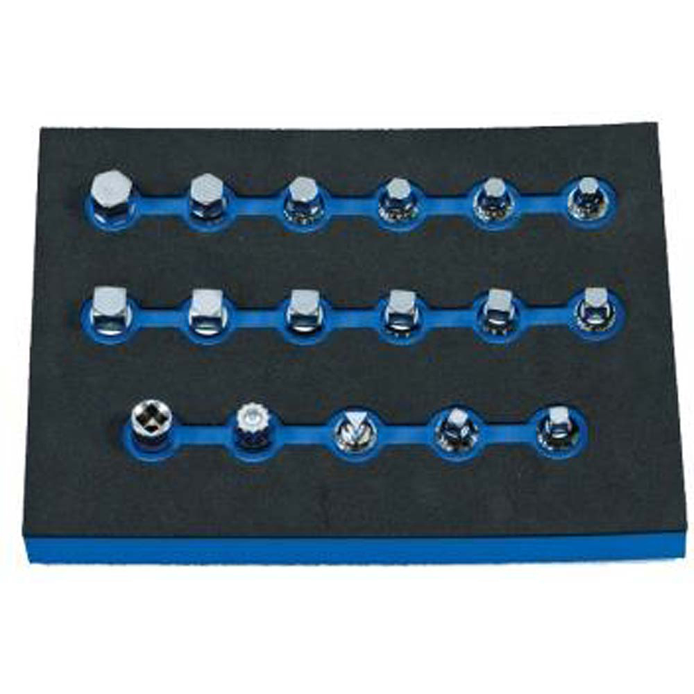 Drain Plug Key Set 17 Piece Set