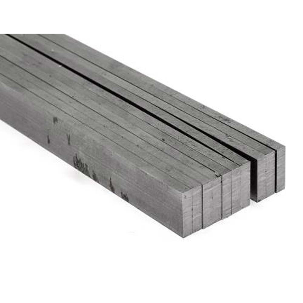 Bright Mild Steel Flat Sheets - 6 x 25 x 500mm (pk of 10)