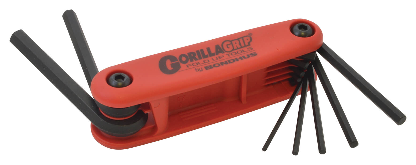 Bondhus Folding Hex Key Set - Metric