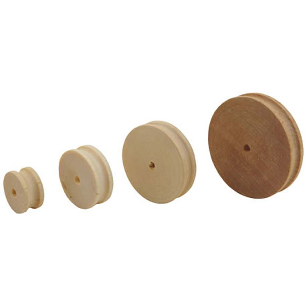 Birch Pulley 30mm (Pack of 10)