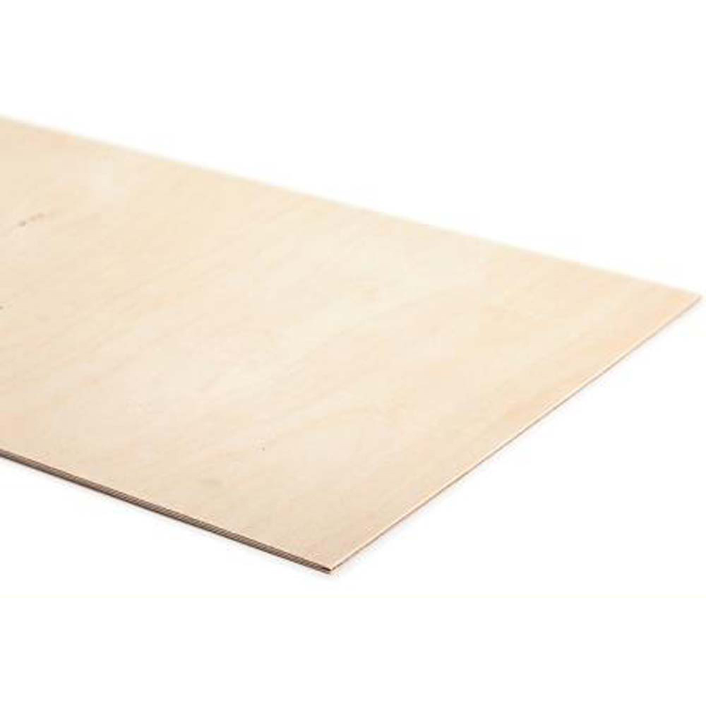 Thin Birch Laserable Ply 600 x 600 x1.5mm