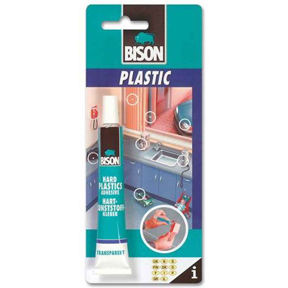 Bison Plastic Adhesive 25ml