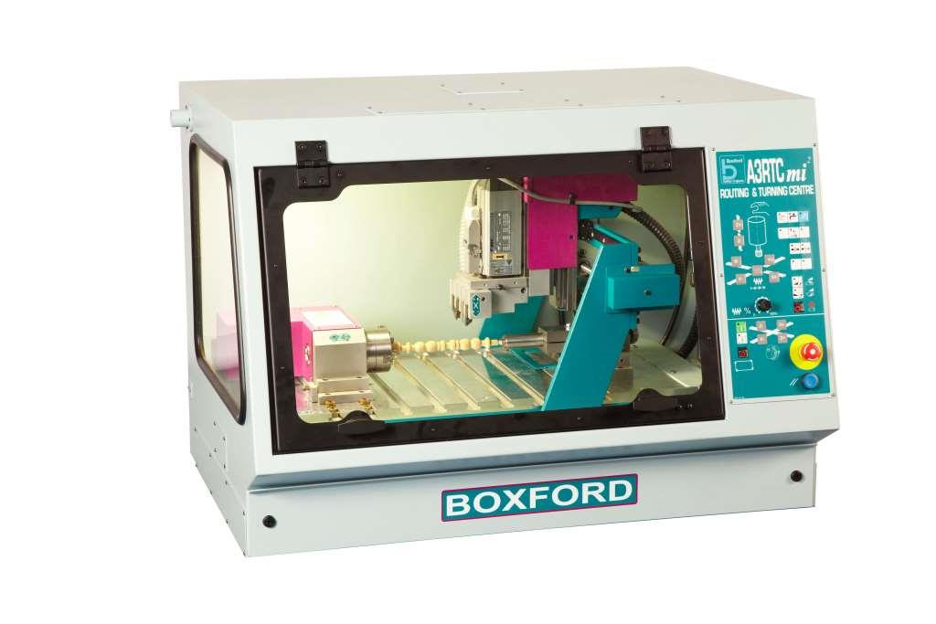 Boxford A3RTCmi2 Bench Mounted CNC Lathe and Router Combination Machine