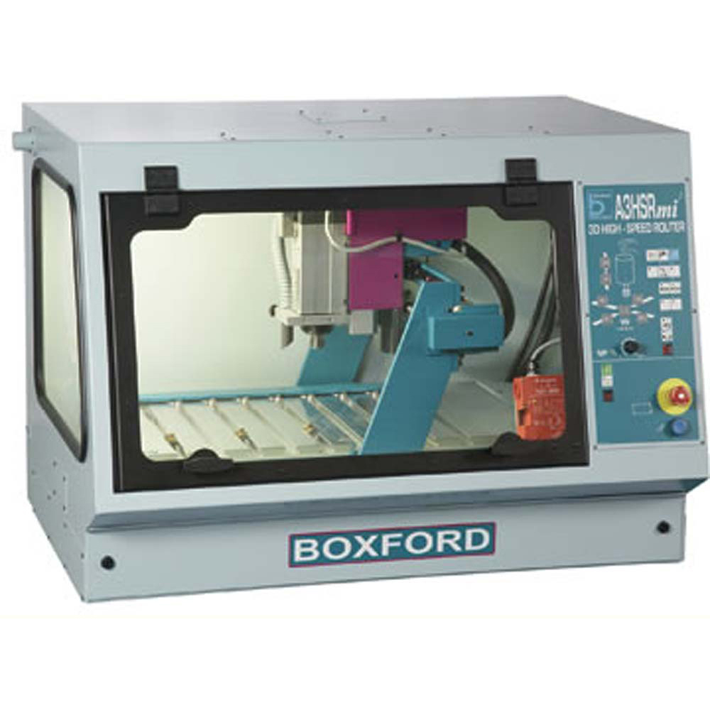 Boxford A3HSRmi2 Bench Mounted CNC Router - cuts wood, plastic and non-ferrous metals