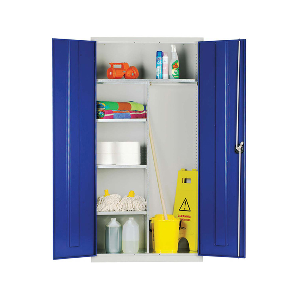 Janitorial Cupboard Extra Wide 1830 x 1220 x 457mm