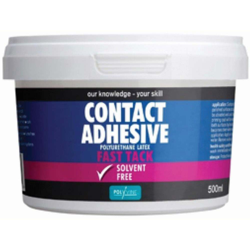 Contact Adhesive Solvent Free Fast Tack 1 Litre