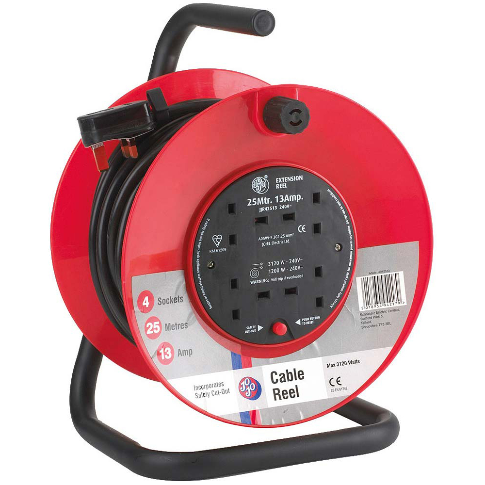 Jojo Cable Reel 25m/13 Amp