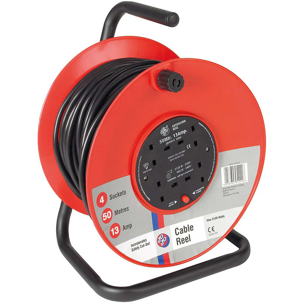 Jojo Cable Reel 50m/13 Amp