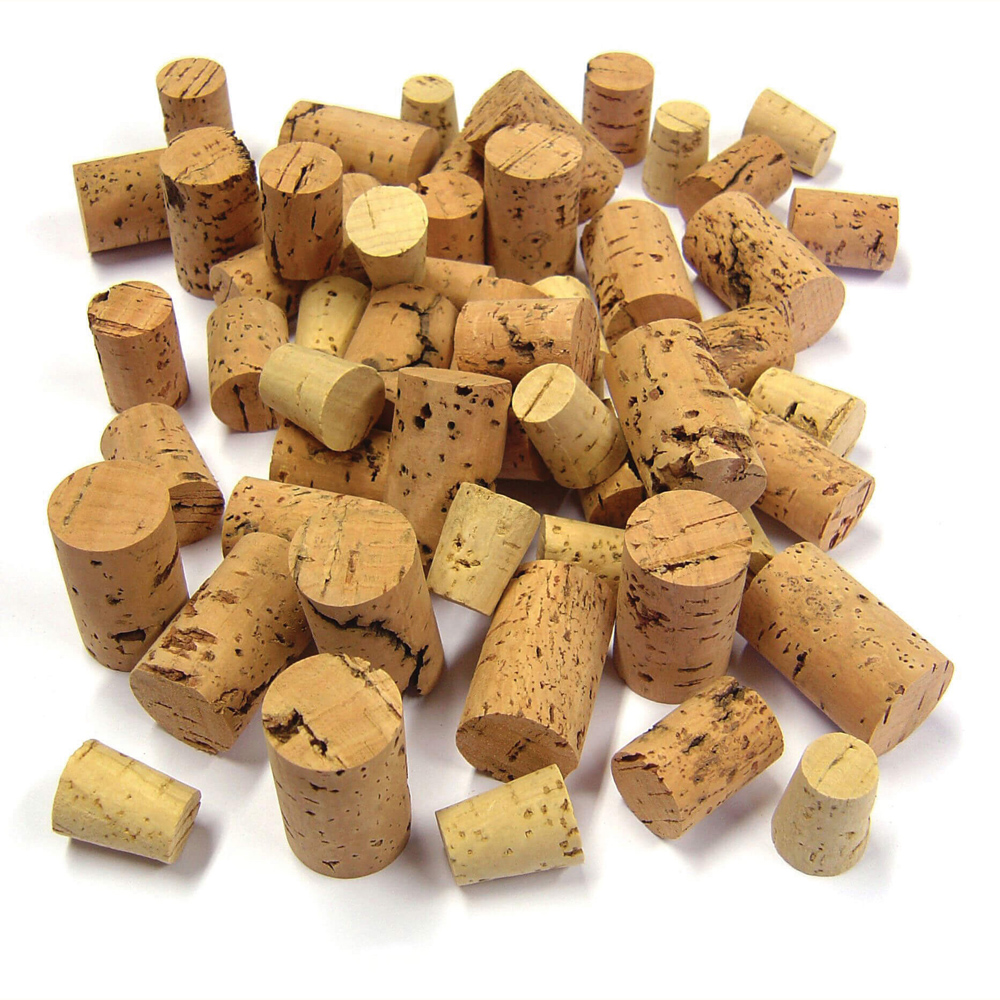 Cork Pieces Assorted- Approx 100g