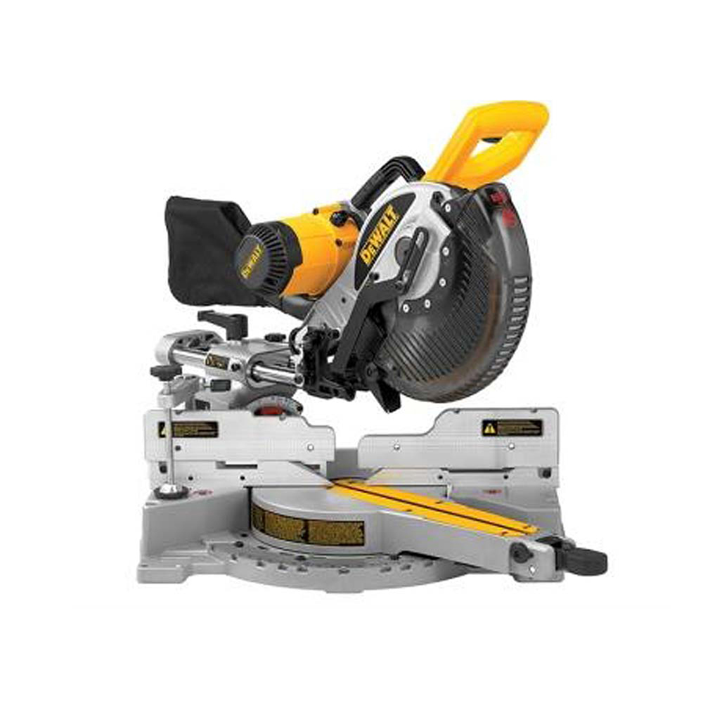 DW717XPS 250mm Sliding Compound Mitre Saw XPS 1675 Watt 110 Volt