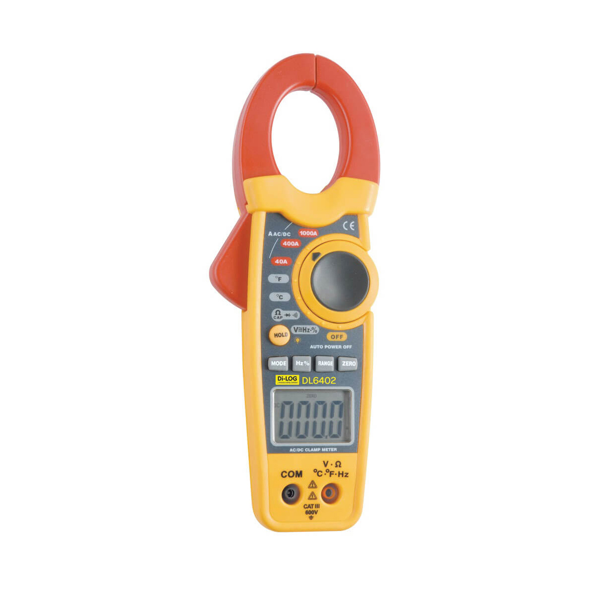 DiLog Digital Clamp Meter DL6402