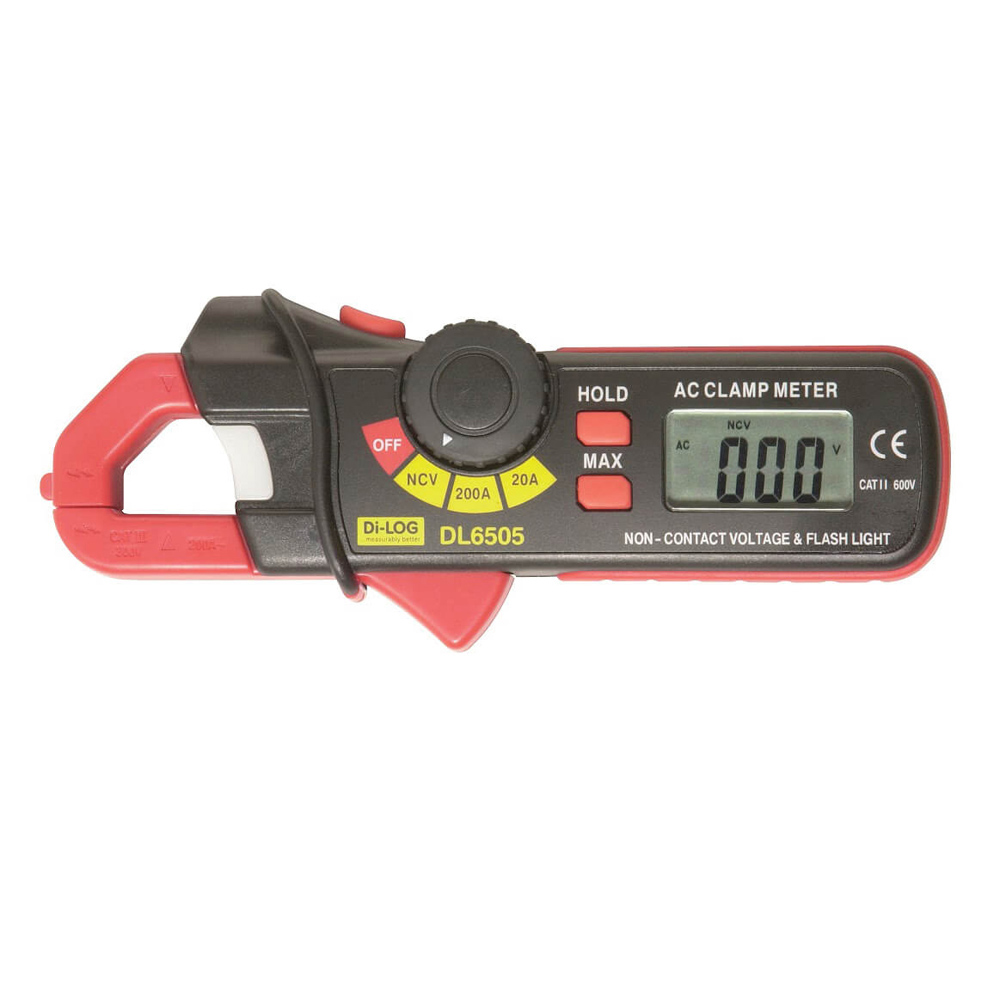 DiLog Digital Clamp Meter DL6505