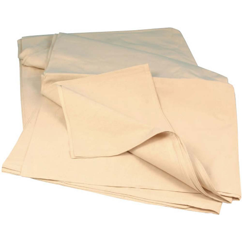 Heavy Duty Cotton Dustsheet - 12ft x 9ft Approx