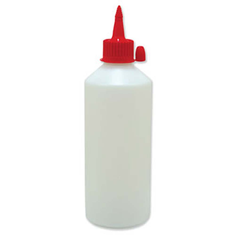 Empty Glue Container & Nozzle - 500ml (Pack of 10)