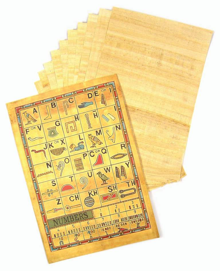 Egyptian Papyrus 20cm x 30cm - Pack 10