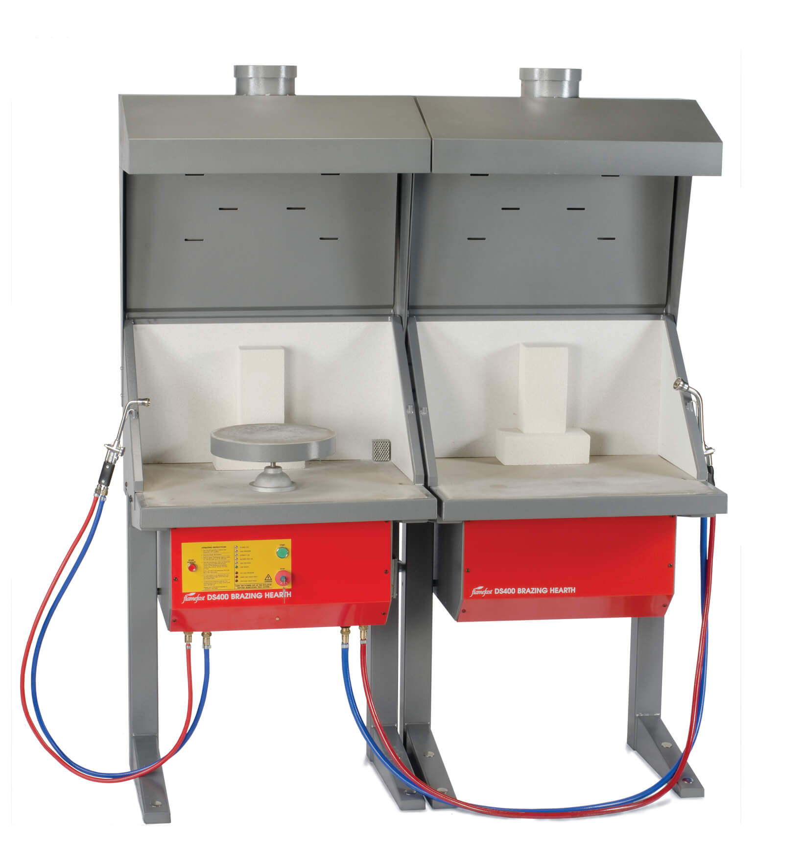Flamefast Double Brazing Hearth DS400D