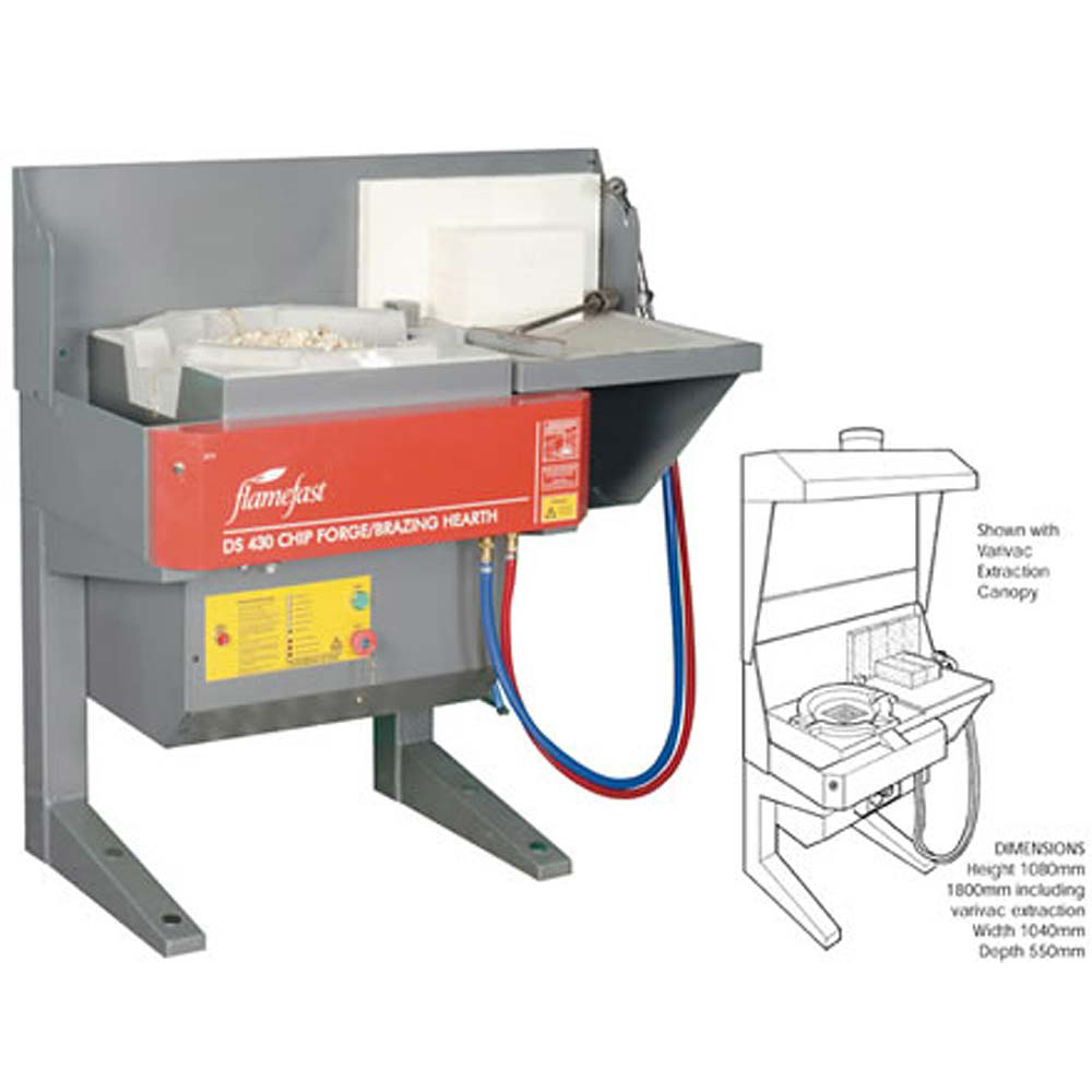 Flamefast Chip Forge and Brazing Hearth DS430S