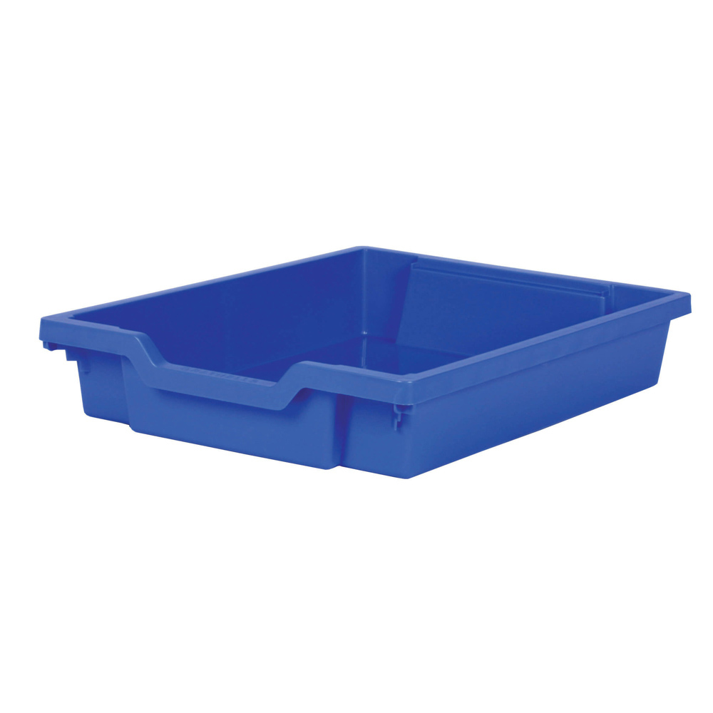 Gratnells Shallow Tray - Blue  H75mm x W312 x D427