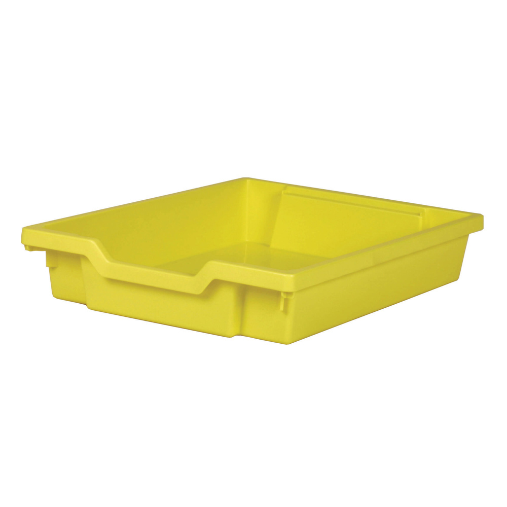 Gratnells Shallow Tray - Yellow