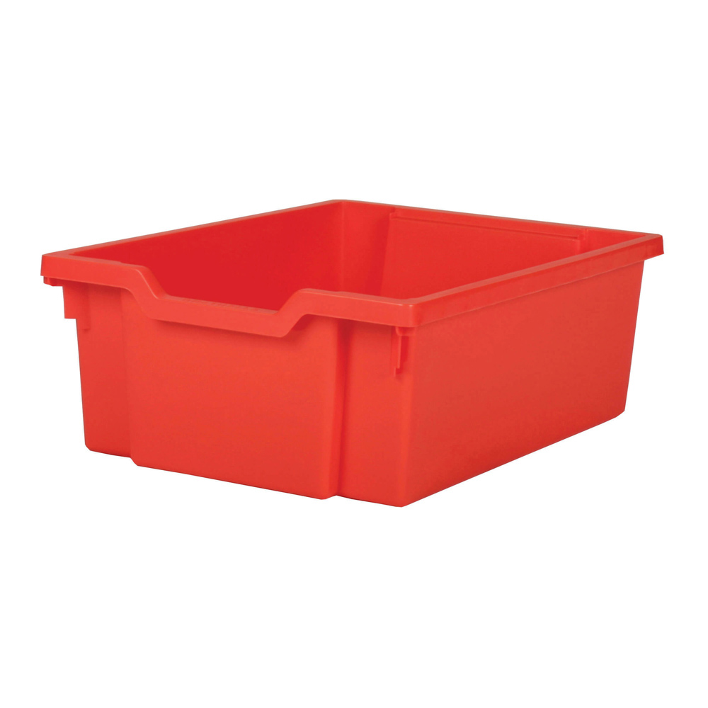 Gratnells Deep Tray - Red  H150mm x W312 x D427