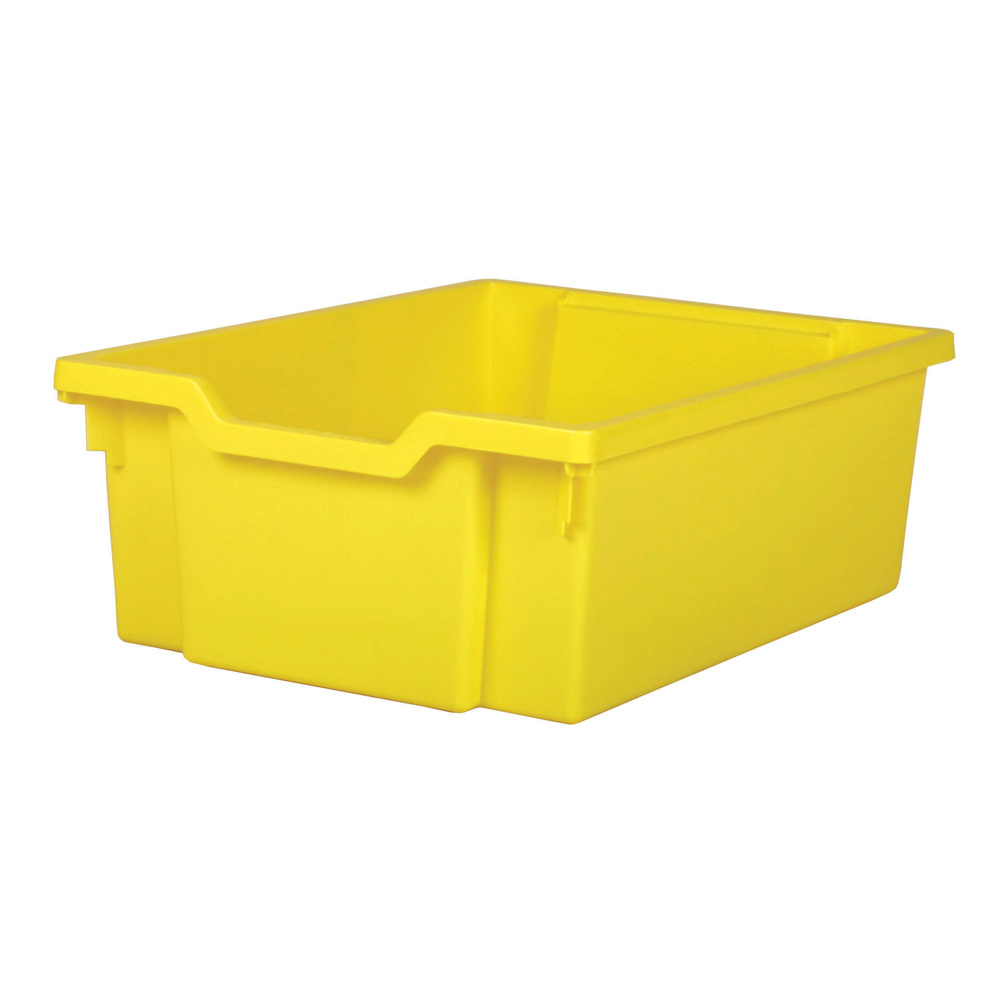 Gratnells Deep Tray - Yellow  H150mm x W312 x D427