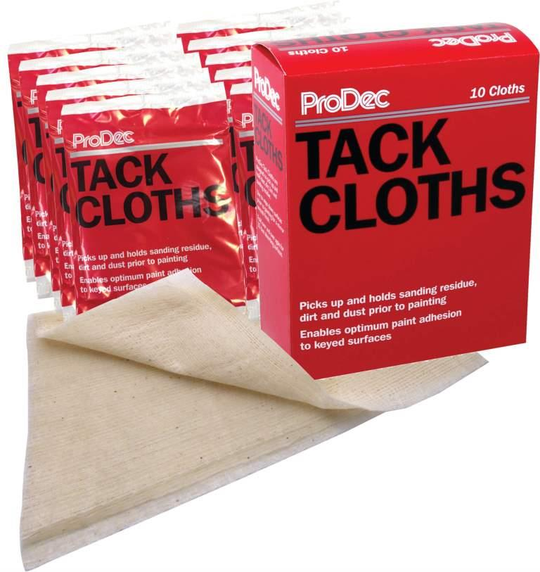 Tack Cloths - pack of 10