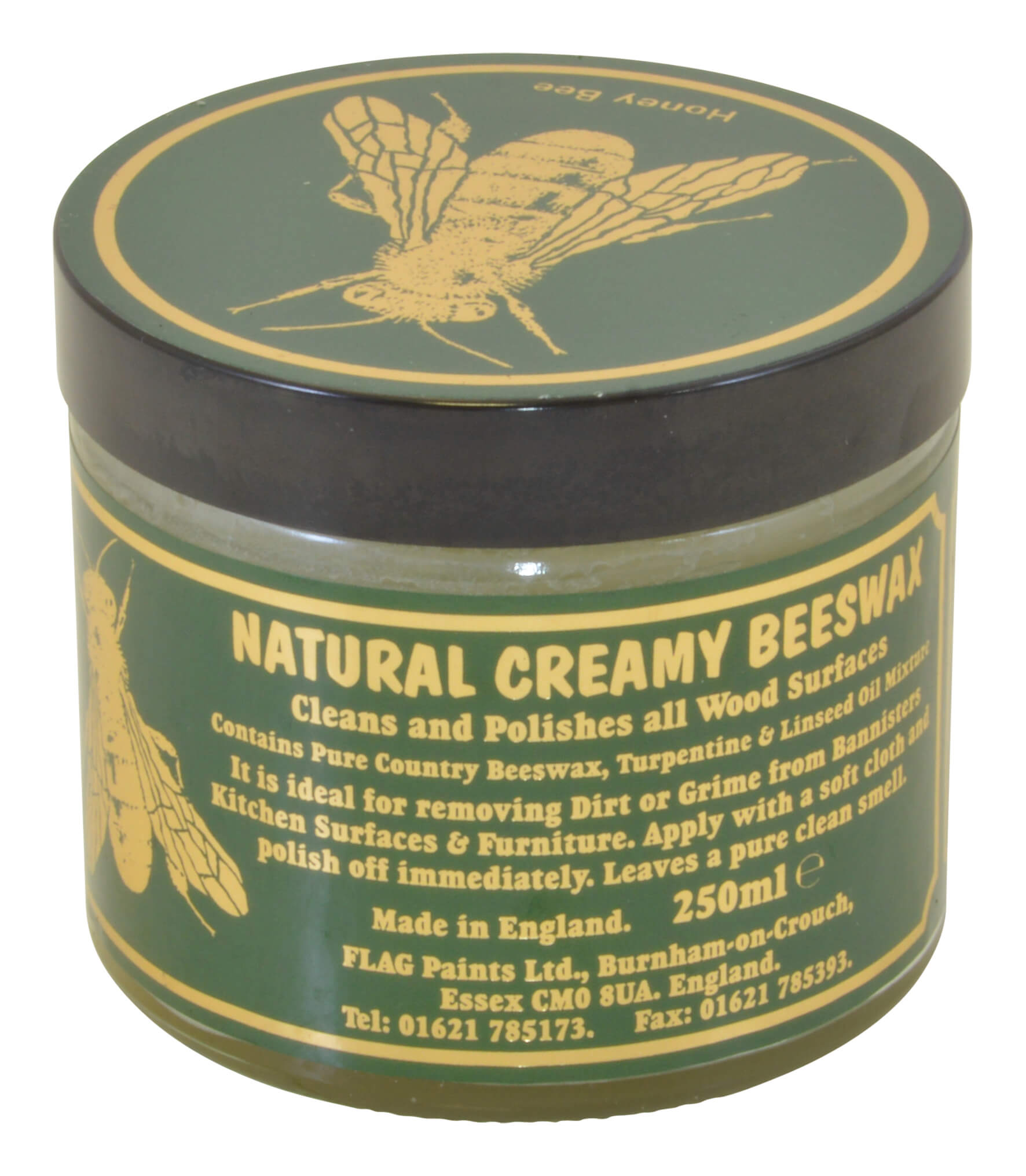 Natural Creamy Beeswax - 250ml