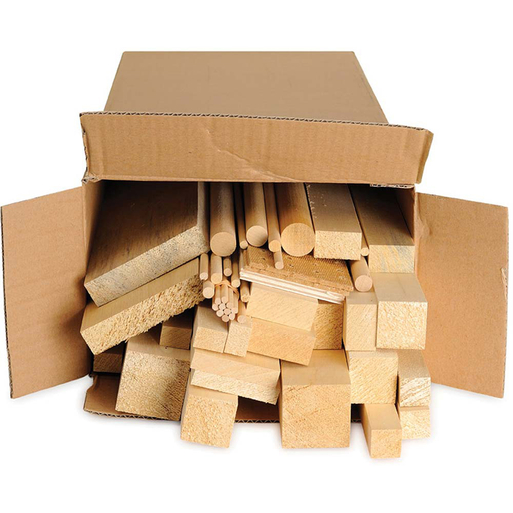 Hardwood Craft Pack - Block Set