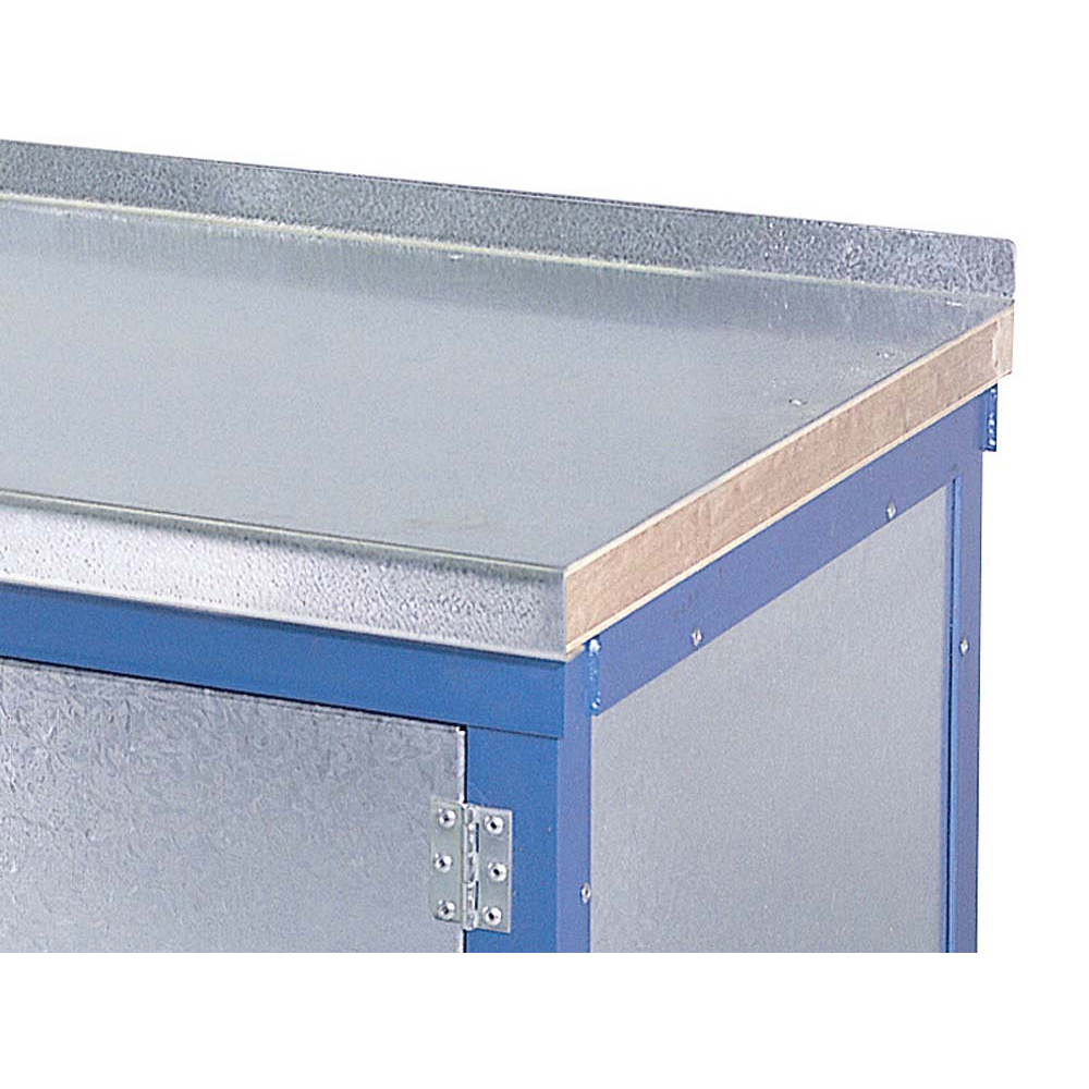 Edubench Heavy Duty Wood and Steel Top Bench - 2000 x 750mm