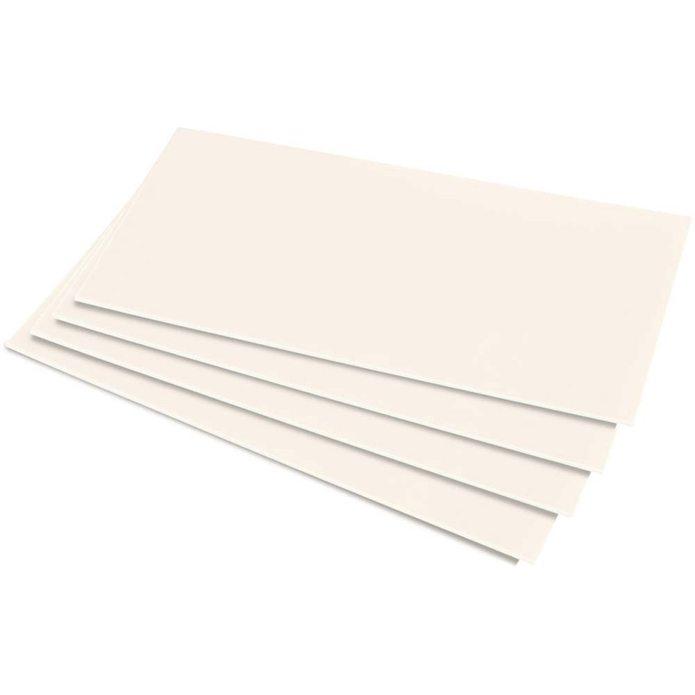 HIPS 1.0mm Sheet - 610mm  x 457mm - White