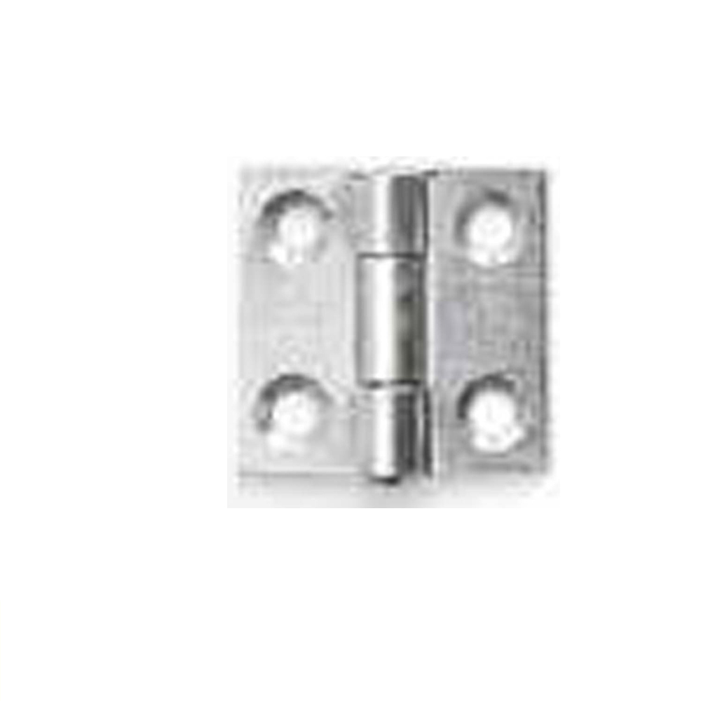 Plated Steel Hinge 25mm - Pack of 50