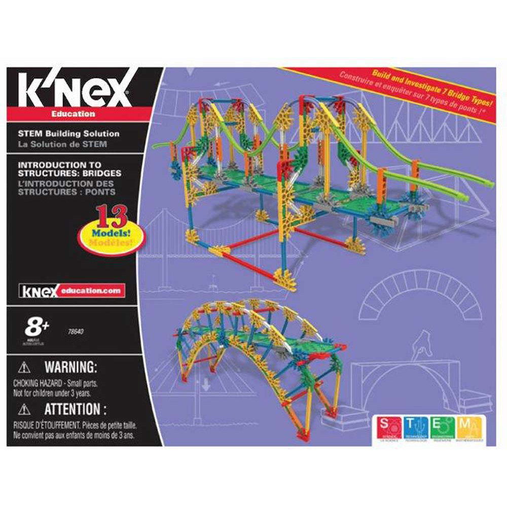 K'Nex Introduction to Structures - Bridges